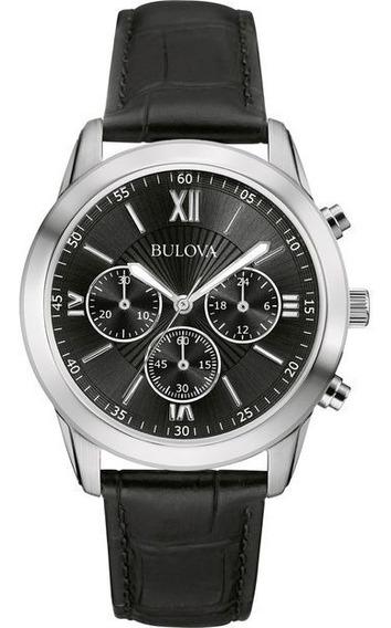 Relógio De Pulso Bulova Classic Masculino Wb22382t