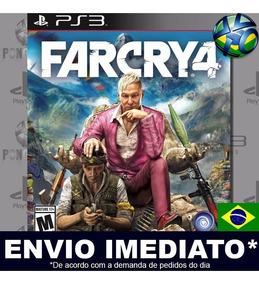 Jogo Ps3 Far Cry 4 Psn Play 3 Dublado Pt Br Mídia Digital