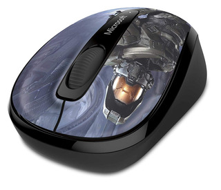 Microsoft Wireless Mobile Mouse 3500 Halo Limited Edition: T