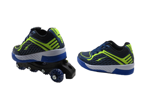 Tenis Menino Infantil Mini Pe Roller Mania Ref:mp3371