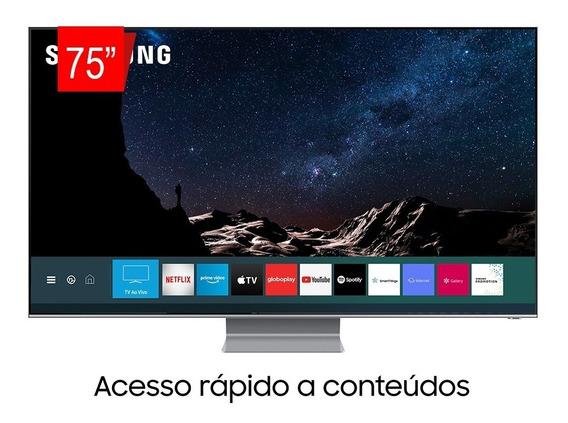Smart Tv Qled 75 Uhd 8k Samsung 75q800t Pronta Entrega