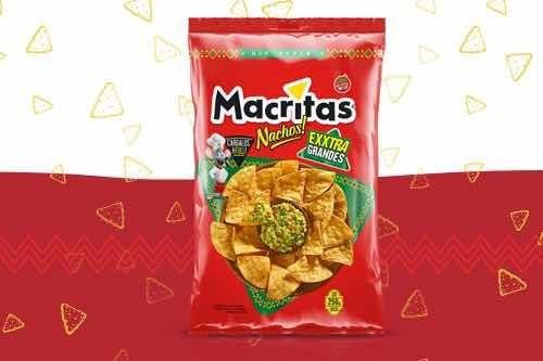 Snack Macritas Restaurante Style 250gr (caja 15 Unidades)