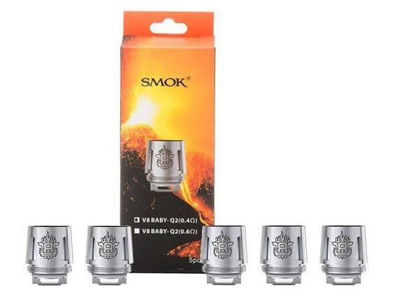2 Cx Coil Tfv8 Q2 Smok - Resistência, 10 Unid