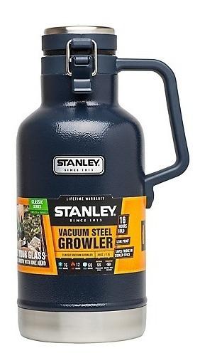 Termo Growler 1,9 Lts Stanley Negro Azul Verde