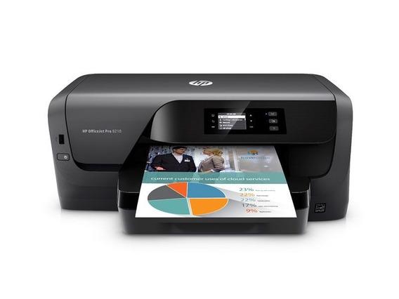 Impressora Jato De Tinta Color Hp Oj Pro 8210 Duplex/wifi