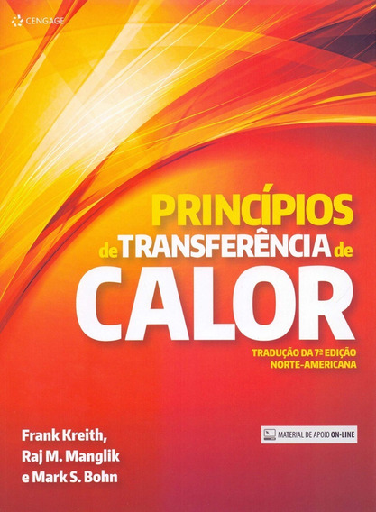 Princípios De Transferência De Calor - 7ª Ed. 2014