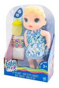 Boneca Baby Alive Hora Do Xixi Loira Original Barata Promo