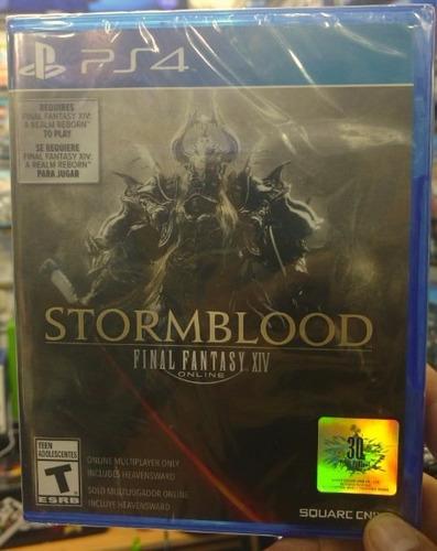 Final Fantasy Stormblood Xlv Ps4 Nuevo Sellado + Garantia