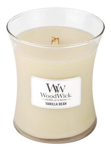 Imagen 1 de 1 de Vainilla Bean Woodwick Jar Vela 10oz