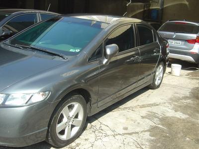 Honda Civic 1.8 Lxs 4p Automatico Blindado