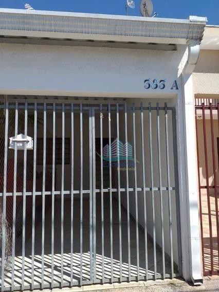 Casa Com 2 Dormitórios Para Alugar, 80 M² Por R$ 935,00/mês - Jardim Amanda I - Hortolândia/sp - Ca0543