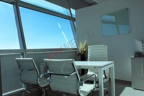 Oficinas Corporativas En Renta Torre Jv Iii Atlixcáyotl Amuebladas