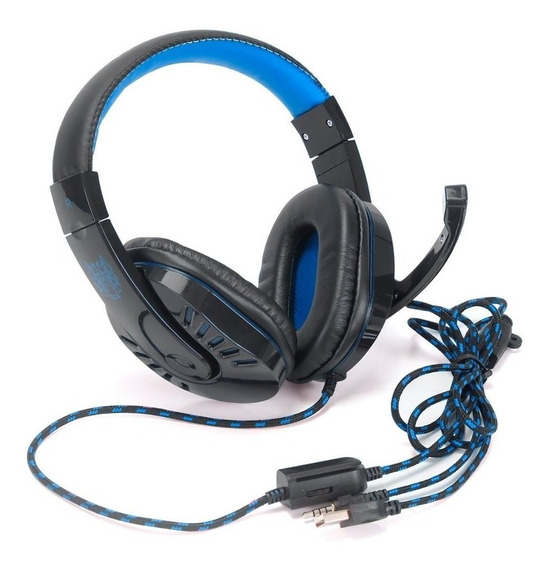 Headset Fone Ouvido Gamer Xsoldado Hf-g310 Rgb Usb P2 Ps4/pc