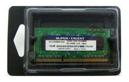 Memoria Ram 1gb Ddr3 1333mhz Sodimm Super Talent