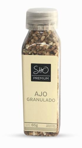 Imagen 1 de 3 de Ajo Granulado Apto Vegano Kosher Shio Gourmet 50 Gr Titanweb
