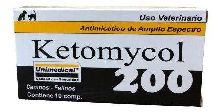 Ketomycol 200 Antimicótico Unimedical 10 Comprimidos