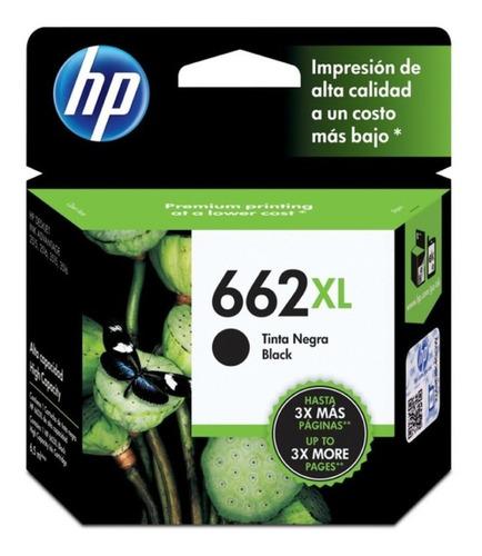 Cartucho Hp 662xl Negro Original Cz105al Nuevo Caja Cerrada