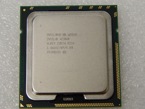 Xeon W3550 Quad Core 4 Threads 3,06 Ghz Lga1366