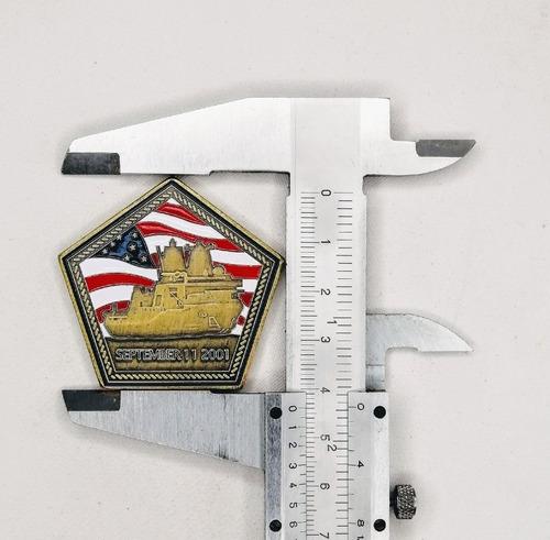 Imagen 1 de 6 de Moneda Militar, Uss Arlington