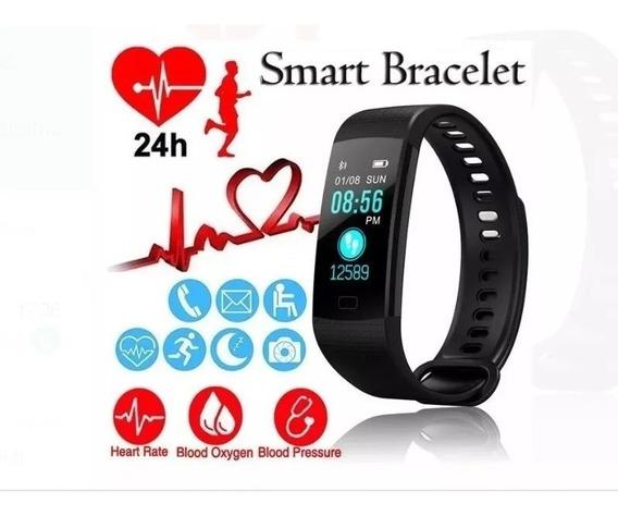 Smartband Pressão Arterial Smart Bracelet Super Completo Top