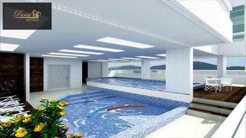 Imagem 1 de 5 de Apartamento Em Praia Grande Bairro Canto Do Forte - V201