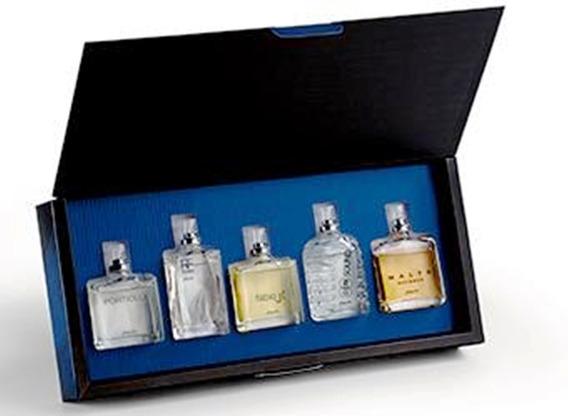 Kit Com 5 Perfumes Masculinos Estojo Astros