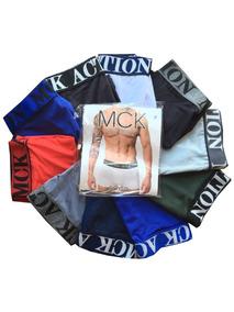 Cueca Boxer Box Estampada Lisa Kit Com 15 Atacadao Fabrica