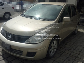 Nissan Tiida 2012 Custom 4 Cil Manual *hay Credito