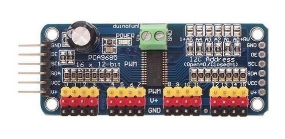 Módulo Pca9685 Controla 16 Servos - Leia A Descrição!