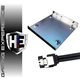 Suporte Universal Hd Ssd 2,5 Para Desktop 3,5 + Cabo Sata