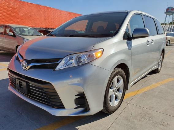 Toyota Sienna Le Plata Nueva De Demostracion 3 Años Garantia