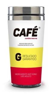 Copo Inox Térmico - Sátiras Remédios - Remédio Café