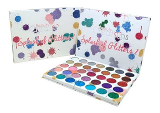 Splash Glitter 2 Paleta 35 Glitter Beauty Creations Original