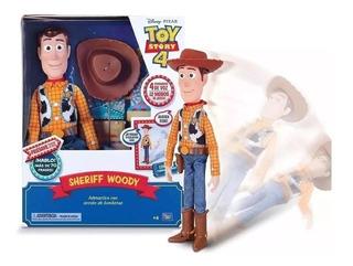 Muñeco Woody Toy Story +70 Frases Original Le Hablas Y Cae
