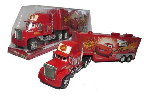 Imagen 1 de 8 de Cars Camion Grande Mack Transportador A Friccion Ditoys 1175