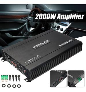 2000w 4 Canales Coche Clase Ab Estéreo Amplificador De Poten