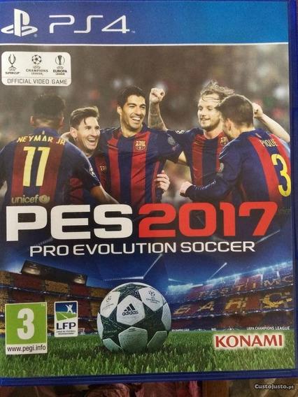 Jogo Pro Evolution Soccer 2017 Pes 17 Ps4 Lacrado