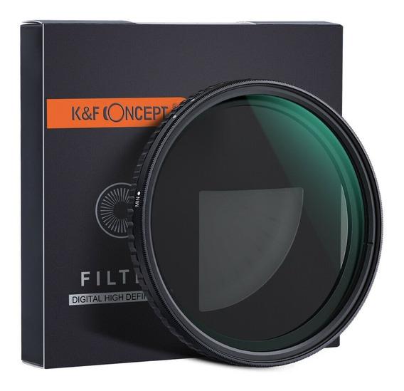 Filtro Original K&f Nd2-nd32 P/ Todas Lentes C/ Boca De 82mm