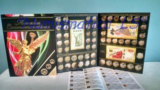 Albums Coleccionador Para Monedas De 5 10 Y 20 Y Otros Ls