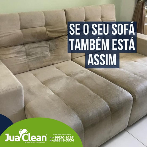 Imagem 1 de 2 de Limpeza E Higienização Profissional De Sofá, Colchão, Etc