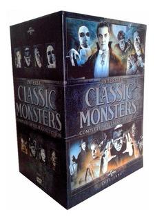 Universal Classic Monsters Coleccion 30 Peliculas Boxset Dvd