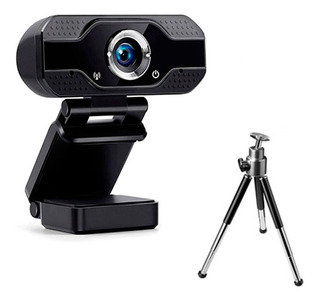Camara Web Webcam Full Hd 1080 Usb Microfono Para Skype Zoom