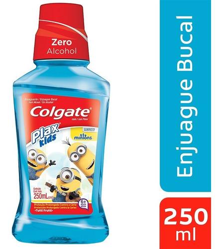 Enjuague Bucal Colgate Plax Kids Minions X 250ml