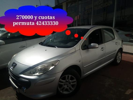 Peugeot 307 2.0 Xs Premium 143cv Mp3 Lim Vel El Mejor