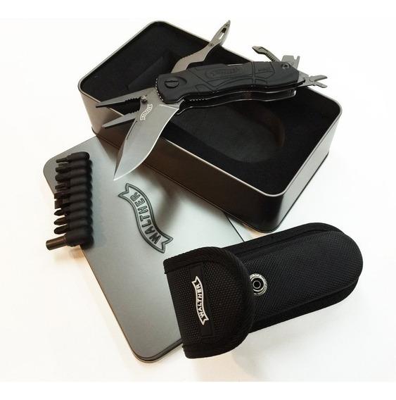 Walther Pro Multitac Cuchillo Multiuso Herramienta