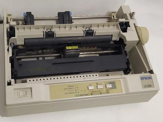 Impressora Matricial Epson Lx 300 Tatuagem + 200 Vendidas