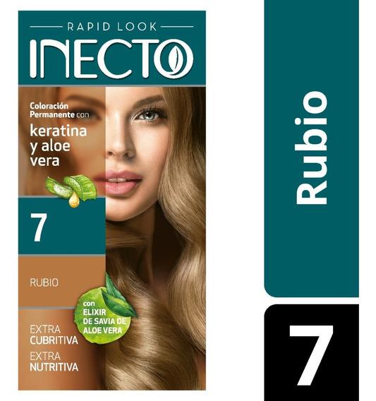 Kit De Tintura Inecto Rubio Nº 7