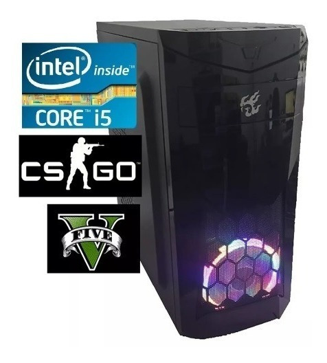Cpu Pc Gamer Intel Core I5 3470 3.6ghz Ssd 120gb 4gb F 500w