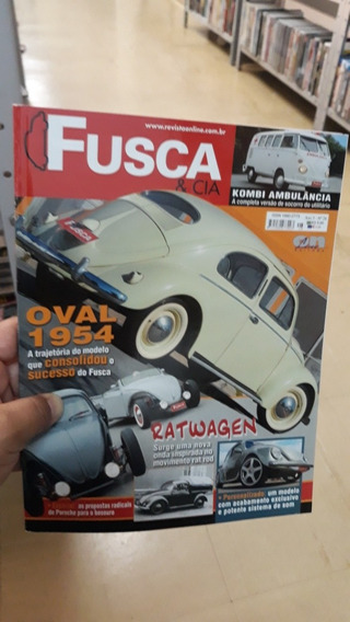 Revista Fusca E Cia N°28 Frete 8.00 Reais