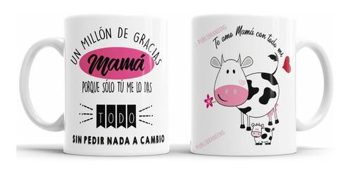 Imagen 1 de 3 de Taza Personalizada Dia De La Madre-regalos Para Mamá-x Mayor